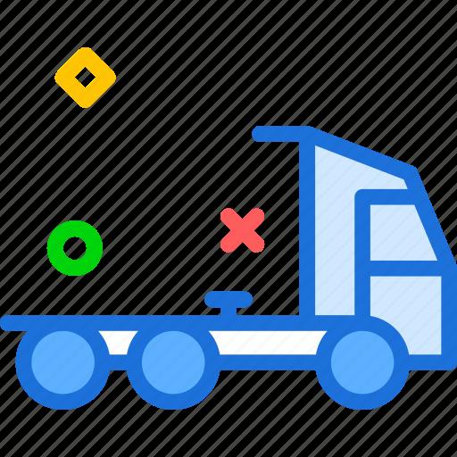 carhead, transport, truck icon