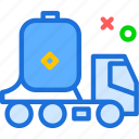 tank, transport, water icon