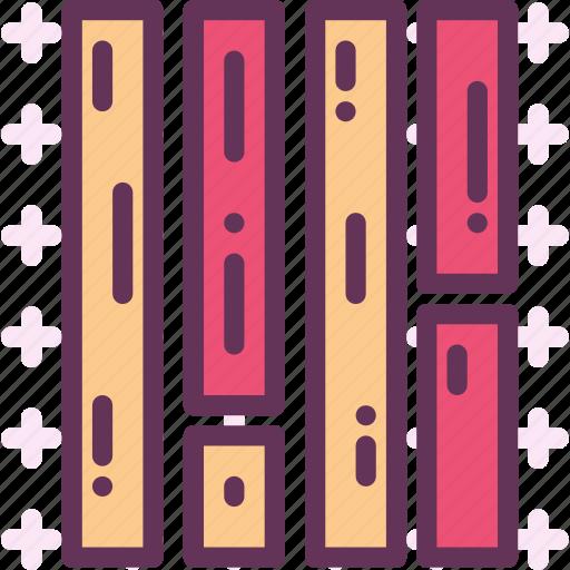 finish, floor, wood icon