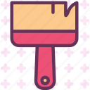 brush, color, note, paint, pencil, write icon