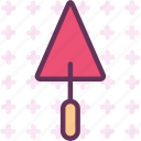 builder, tool, triangletowel, worker icon