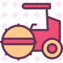 heavy, machine, road, site, transport, truck icon