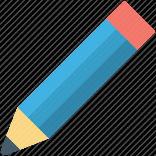 crayon, draw, lead pencil, pencil, write icon