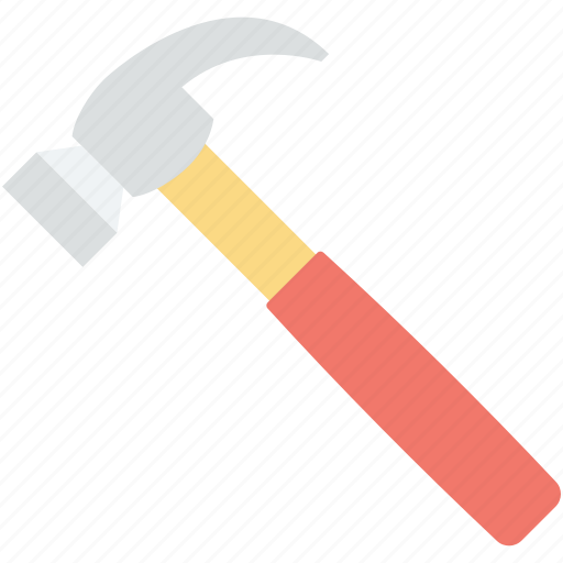 Hammer, hand tool, nail fixer, nail hammer, work tool icon - Download on Iconfinder