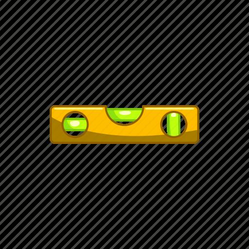 balance, construction, equipment, level, ruler, tool icon