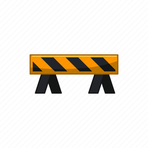 barrier, construction, road, roadblock, safety, traffic, work icon