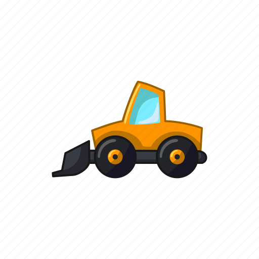 construction, excavator, machine, transport, vehicle icon