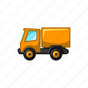 auto, construction, delivery, shipping, truck, van, vehicle icon