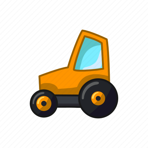 Auto, construction, tractor, vehicle icon - Download on Iconfinder