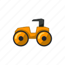 auto, contruction, machine, tractor, vehicle icon