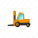 construction, machinery, tractor, transport, vehicle icon
