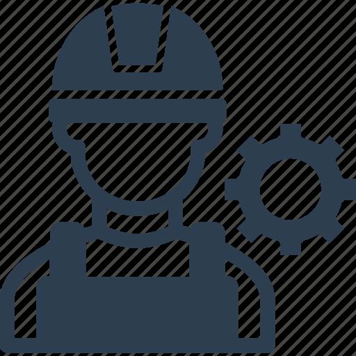 development, engineering, hard hat, mechanic, under construction icon