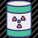 toxic, toxic barrel, toxic cylinder, toxic tank, toxic waste icon
