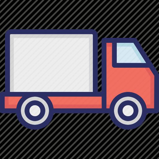 automobile, cargo van, minibus, passenger transport, transport icon