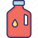 barrel, chemical can, chemical container, chemical gallon, oil bottle icon