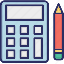 accounting, arithmetic, calculate, calculation, math icon