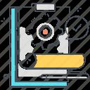 clipboard, design, do, gear, list, plan, to