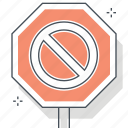 construction, sign, site, stop, traffic, under, warning icon