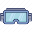 construction, glasses, goggles, protection, safety, tool