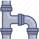 pipe, pipes, plumbing, sewer, system icon