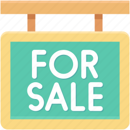 for sale, information, sale, sale board, sale signboard icon