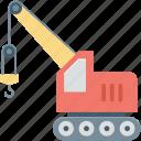 crane, lifter, lifting crane, luggage lifter, tow crane