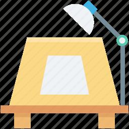 desk lamp, lamp, lamp light, street lamp, street light icon