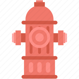 city water, emergency, fire, hydrant, street water icon