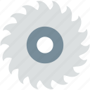 circular saw, power tool, saw blade, saw wheel, wheel blade icon