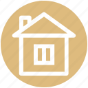 .svg, building, construction, home, house, hut, real estate icon
