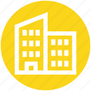 .svg, building, commercial building, construction, housing society, office block, real estate icon