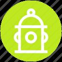 .svg, city fire hydrant, construction, emergency, emergency equipment, fire hydrant, water supply icon