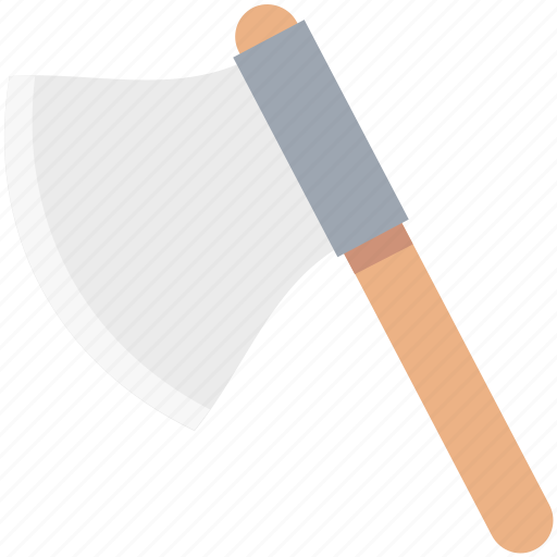 axe, cutting tool, garden tool, wood cutting, working tool icon