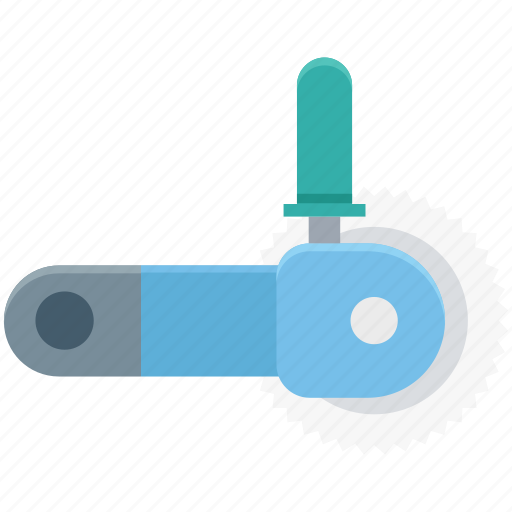 circular saw, cutting tool, power saw, power tool, saw blade icon