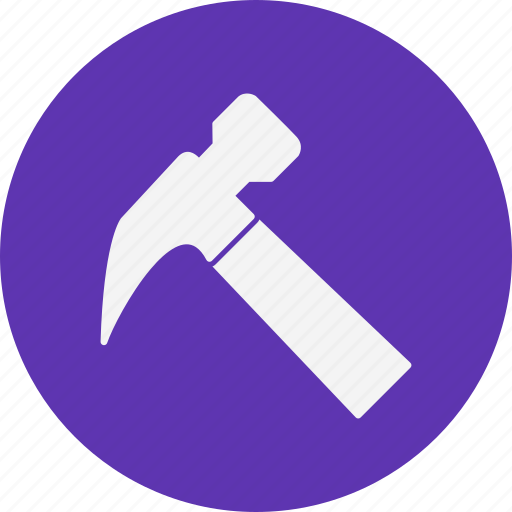 construction, hammer, repair icon