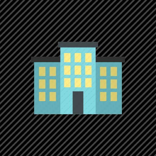 building, construction, door, estate, home, modern, residential icon