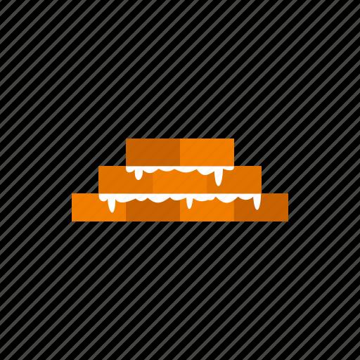 block, brickwork, building, cement, stone, surface, texture icon