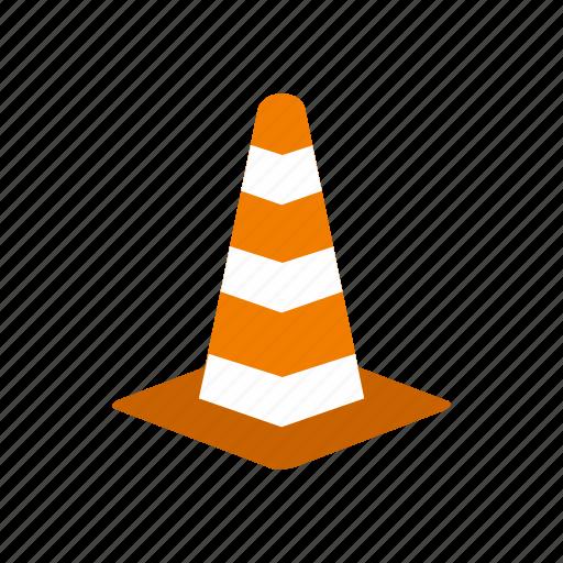alert, cone, construction, equipment, road, security, traffic icon