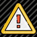 alert, danger, sign icon