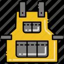 apron, building, construction, protection