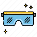 construction, eye, glasses, protection