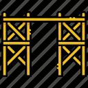 building, construction, scaffolding icon