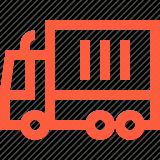 car, logistics, machinery, moving, shipment, transport, truck icon