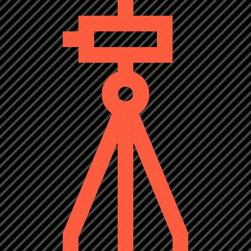 construction, development, geodetics, level, theodolite, tool icon