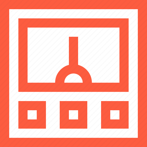 apparatus, appliance, box, electricity, energy, power, supply icon
