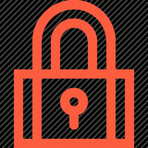 keeping, lock, pad, padlock, pass, saving, secure icon