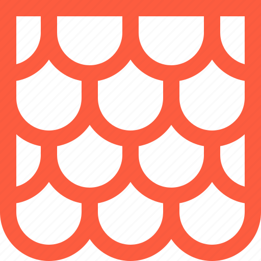 housetop, roof, roofing, tile, tiling, top icon