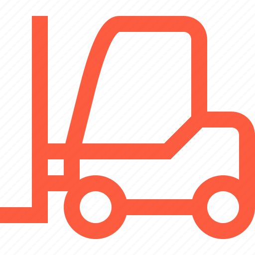 car, cargo, loader, logistics, machinery, shipping, truck icon