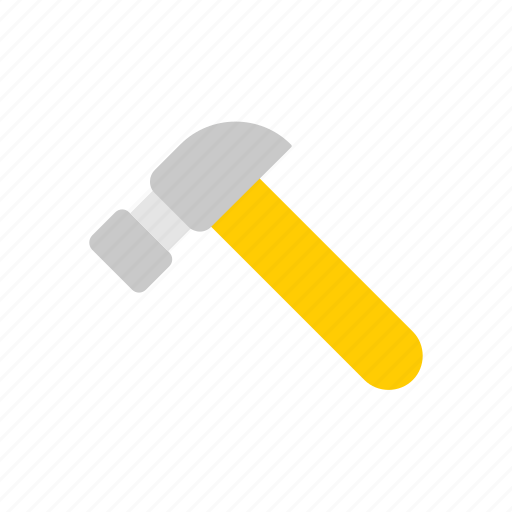 architecture, construction, hammer, repair, tools icon