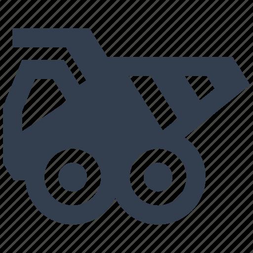 autovehicle, car, construction, dumper, heavy, machine, renovation, transportation, truck, vehicle icon